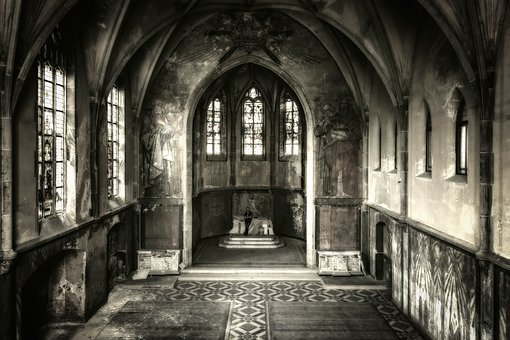 Lost Places, Church, Chapel, Man, Alone, Pforphoto