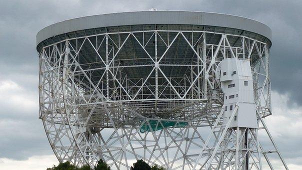 Radio Telescope, Jodrell Bank, Manchester