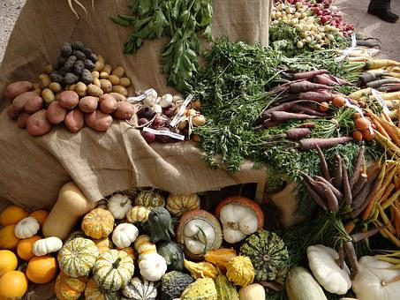 Vegetables, Old Vegetables, Etal, Market