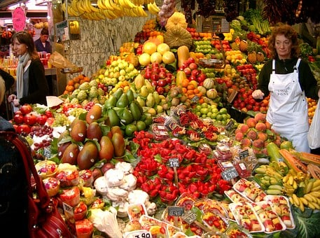 Market, Fruit, Vegetables, Healthy, Fruits, Food