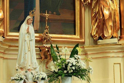Mary, Church, The Altar, Madonna, Religion