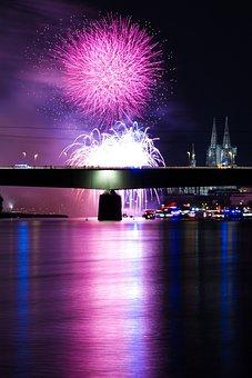 New Year's Eve, Fireworks, Night, Pyrotechnics