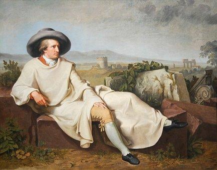 Johann Wolfgang Von Goethe, Poet, Portrait, Man