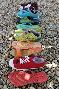 Rainbow, Shoes, Lgbt, Red, Orange, Purple, Yellow