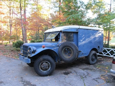 Old, Vintage, Jeep, Retro, Antique, Aged, Vehicle