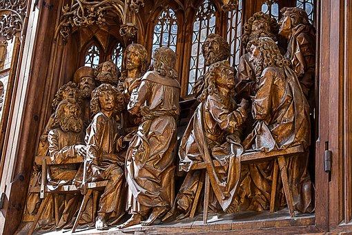 Rothenburg Of The Deaf, Santa Jacob, Riemenschneider
