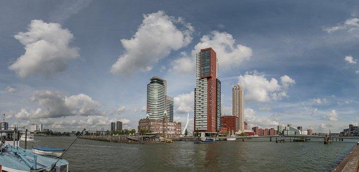 Rotterdam, Rijnhaven, Wilhelmina Pier, Hotel New York