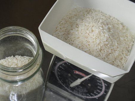 Rice, Vase, Food, Eat, Seeds, Alimentari, Kitchen
