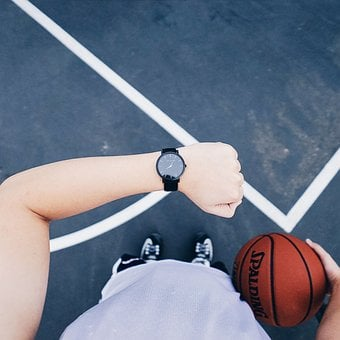 Watch, Basketball, Sport, Active, Training, Time, Ball