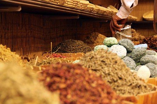 Tee, Spices, Flowers, Dried Leaves, Teas, Bazaar
