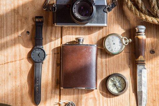Watch, Black Watch, Wrist Watch, Wrist, Timepiece