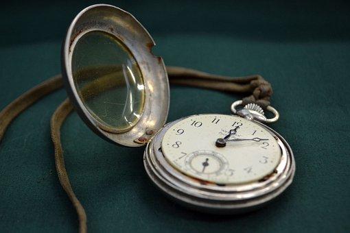 Watch, Time, Pocketwatch, White Rabbit, Clock, Alarm