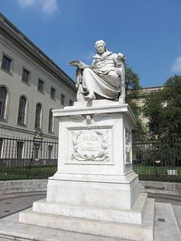 Wilhelm Von Humboldt, Monument, Berlin, University