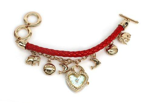 Watch, Wrist Watch, Bracelet, Gold Bracelet, Jewelry
