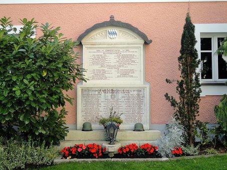 War Memorial, Kottingwoerth, Altmühl Valley, Memorial