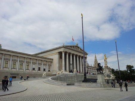 City Hall, Vienna, Athena