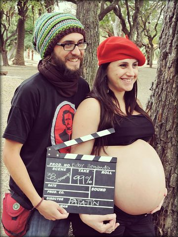 Pregnancy, Family, Couple, Baby On Board, Maternity