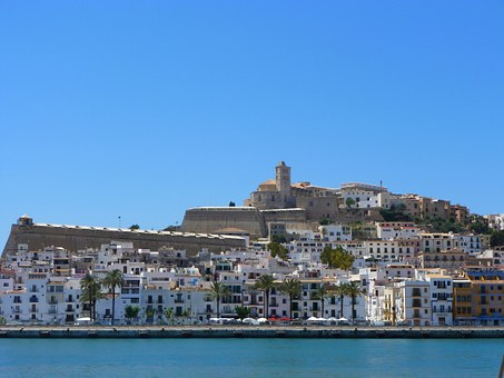 Ibiza, Coastal Town, Balearic Islands, Summer