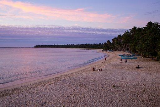 Pagudpud Beach, Beach Sunset, Sunset, Sea, Ocean, Bay