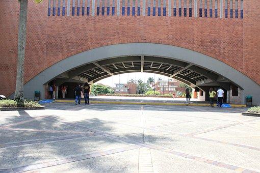 Campus, Colombia, Cali, Uao, College, Javeriana