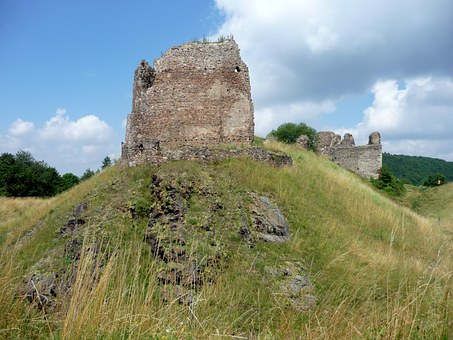 Castle Lichnice, Castle, Ruins, Monument
