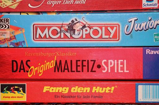 Children's Games, Games Collection, Monopoly