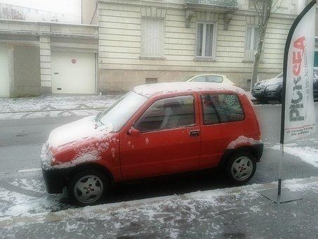 Car, Fiat, Cinquecento, Vehicle, Automobile