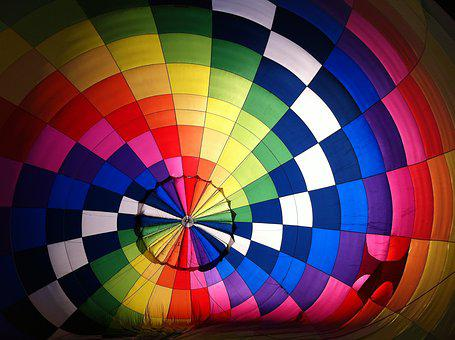 Air, Airship, Balloon, Bright, Color, Colorful, Design