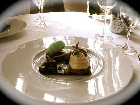 Dessert, Fine Cuisine, Gourmet, Composition, Table