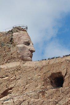Crazy Horse, Black Hills, South Dakota, Carving, Dakota