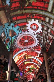 Freemont Street, Vegas, Las Vegas, Gambling