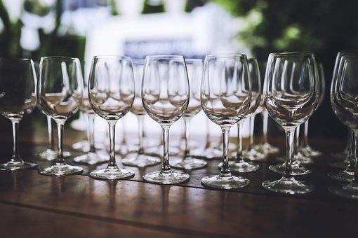 Wine, Glass, Glasses, White Glass, Passel, Alcohol