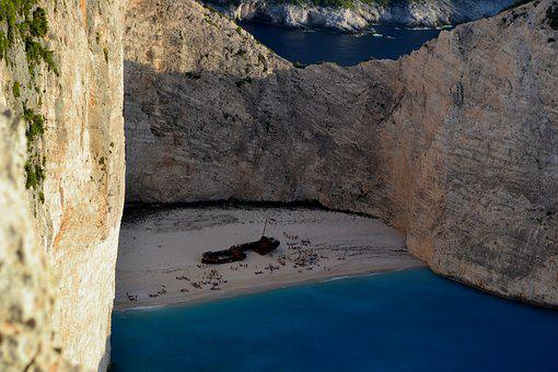 Sea, Greece, Zakynthos, Rocks, Turquoise, Water, Summer