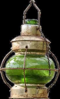 Lamp, Light, Vintage, Oil Lamp, Lantern, Historically