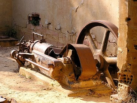 Scrap, Machine, Broken, Rust, Corrosion, Wreck
