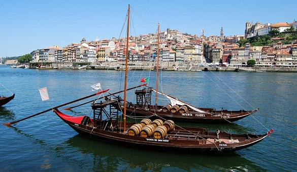 Boat, Barrels, River, Wood, Ancient, Oporto, Portugal