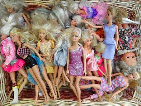 Dolls, Toy, Doll, Children, Rosa, Fuxia