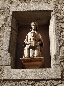 Le-puy-en-velay, Statue, Religion, Christian