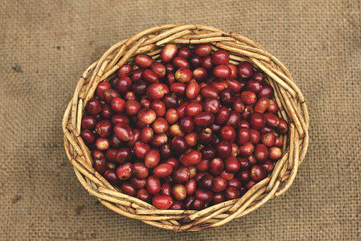 Coffee, Gayo Coffee, Red Beans, Straw, Sumatra Coffee