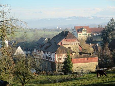 Water Castle Hagenwil, Thurgau, Switzerland, Foresight