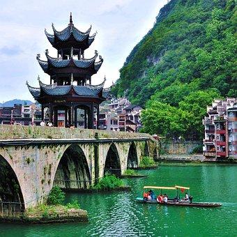 Zhenyuan, Arch Bridge St, Wuyang