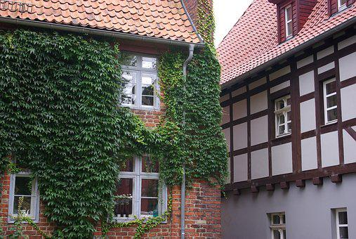 Stralsund, Old House, Architecture, Prussian Wall