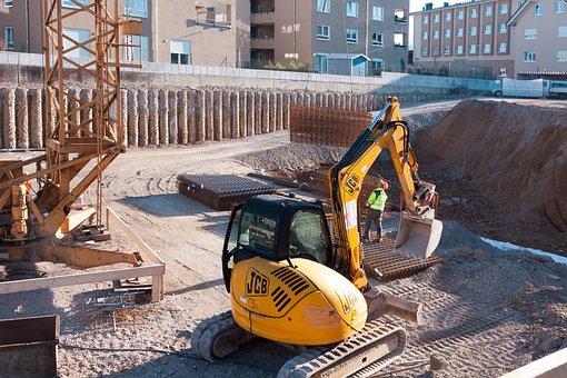 Site, Excavators, Crane, Crane Operator, Remote Control