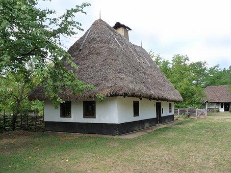Village, House, Folk Architect, Farm