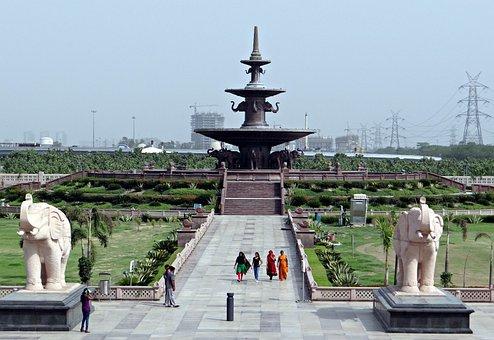 Dalit Prerna Sthal, Memorial, Fountain, Garden