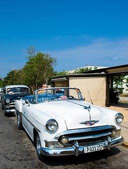 Auto, Old, American, Rattletrap, Cuba, Car, Old Car