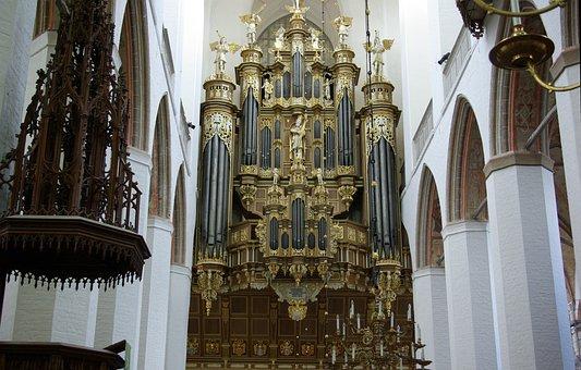 Stralsund, The Altar, Church, Religious