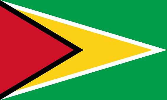 Flag, Guyana, The Golden Arrow, Symbols, Signs