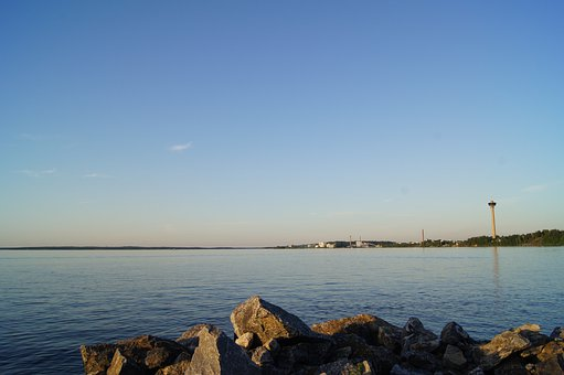 Lake Näsijärvi, Tampere, Finland, Water, Näsinneula