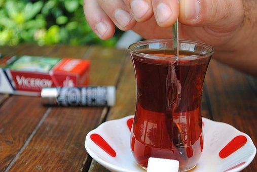 Tea, Turkish, Drink, Food